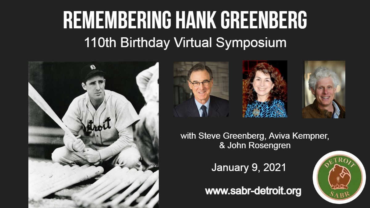 SABR Detroit: Hank Greenberg Symposium