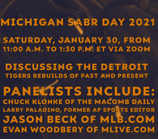 Video from Southern Michigan SABR Day Now Available