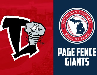 Page Fence Giants induction into Michigan Baseball Hall of Fame